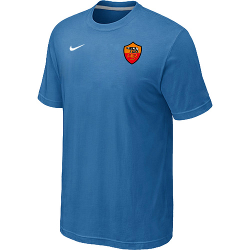 Nike Club Team Roma Men T-Shirt L.Blue