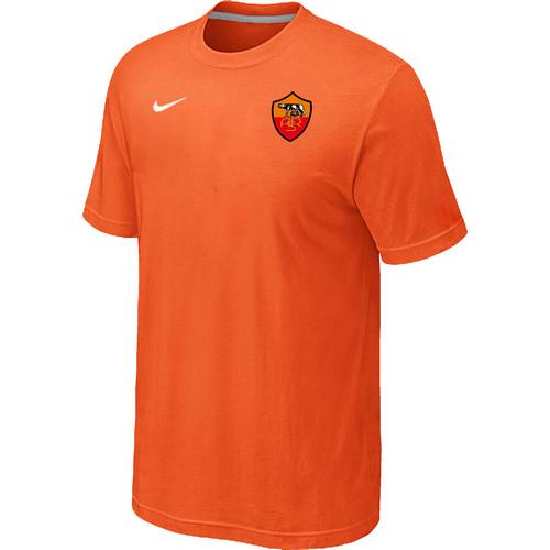 Nike Club Team Roma Men T-Shirt Orange