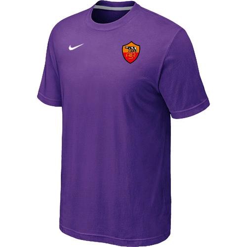 Nike Club Team Roma Men T-Shirt Purple