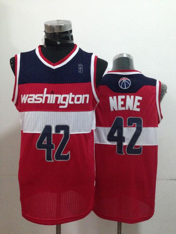 Wizards 42 Nene Red New Revolution 30 Jerseys