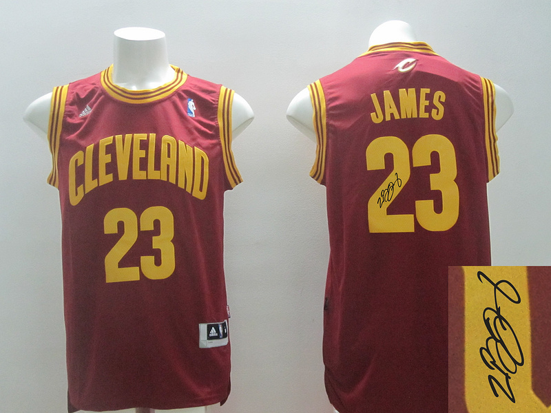 Cavaliers 23 James Red Revolution 30 Signature Edition Jerseys
